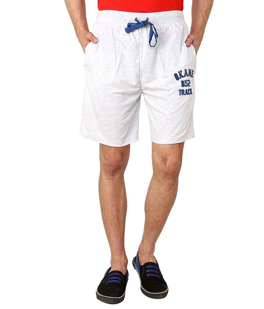 Okane White Shorts