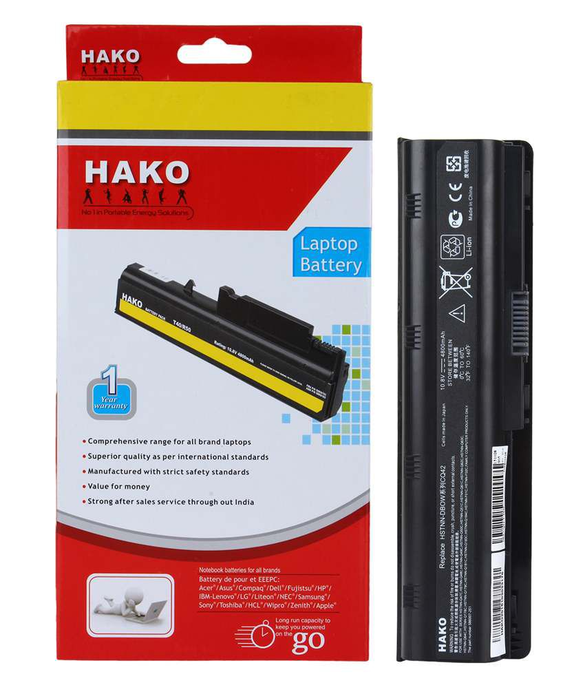 Hako Hp Compaq Pavilion G6-1105sg 6 Cell Laptop Battery