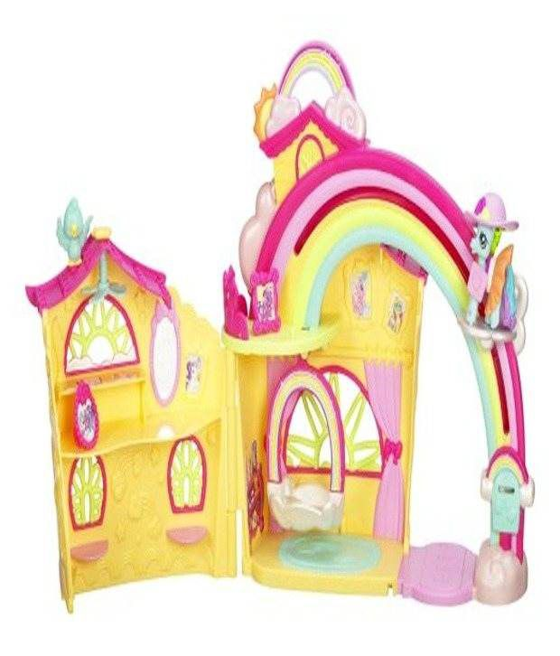 Hasbro My Little Pony Ponyville Rainbow Dash House Buy Hasbro My
