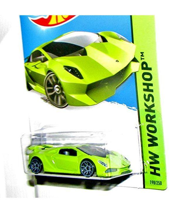 ... 2015 HW Workshop, Lamborghini Sesto Elemento [Lime Green] Die  ...