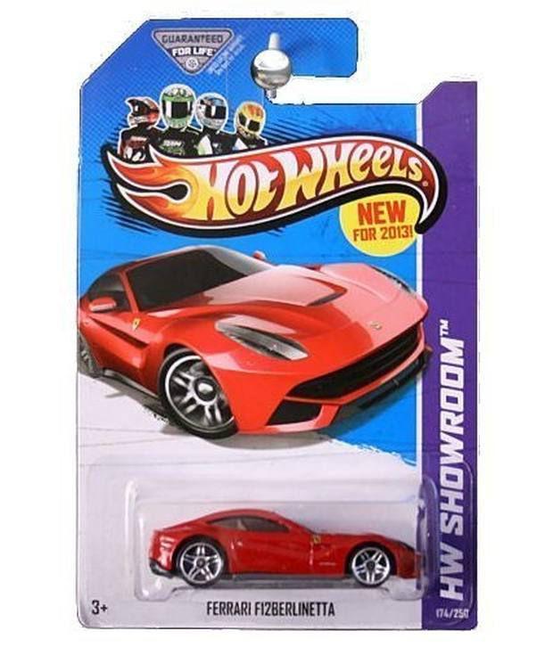 Hot Wheels HW Showroom Ferrari F12 Berlinetta Red #174/250