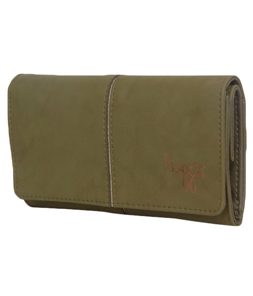 2c8edb3d14976 Buy Baggit Lw Spock Icon Green Tri Fold Wallet at Best Prices in ...
