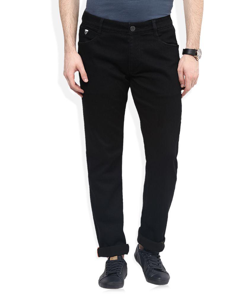 John Players Black Slim Fit Jeans