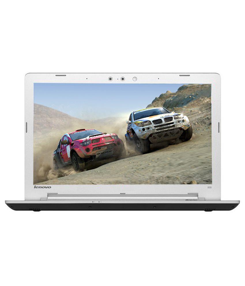 Lenovo Ideapad 500S-14ISK Notebook (80Q30056IN) (6th Gen Intel Core i5- 4GB RAM- 1TB HDD- 35.56 cm(14)- Windows 10- 2GB Graphics) (Silver)