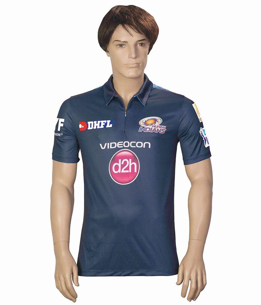 IPL T20 Mumbai Indians Practice Jersey Mens