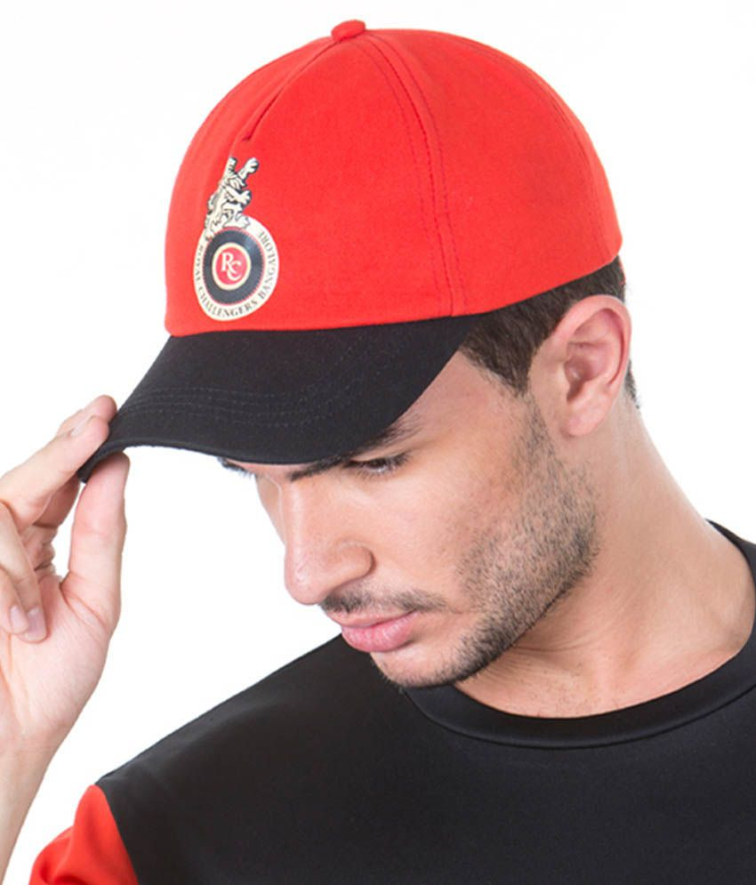 Royal Challengers Bangalore Red & Black Cap