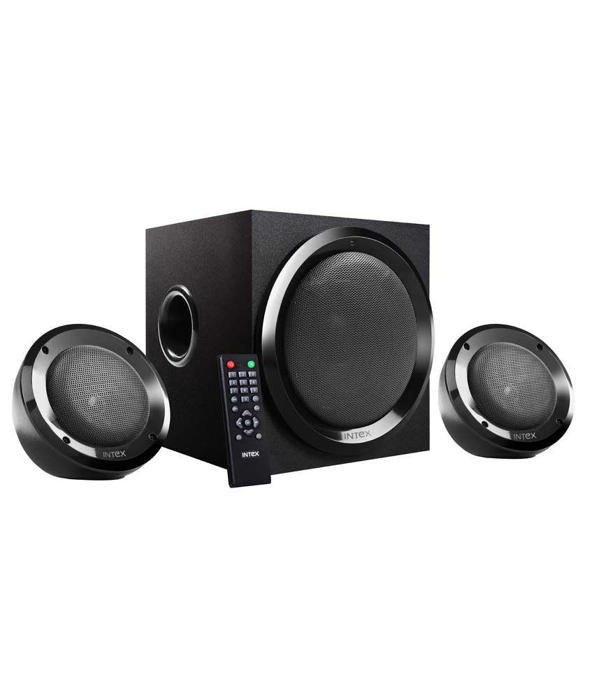 Intex IT-2202 SUF OS 2.1 Multimedia Speakers Black