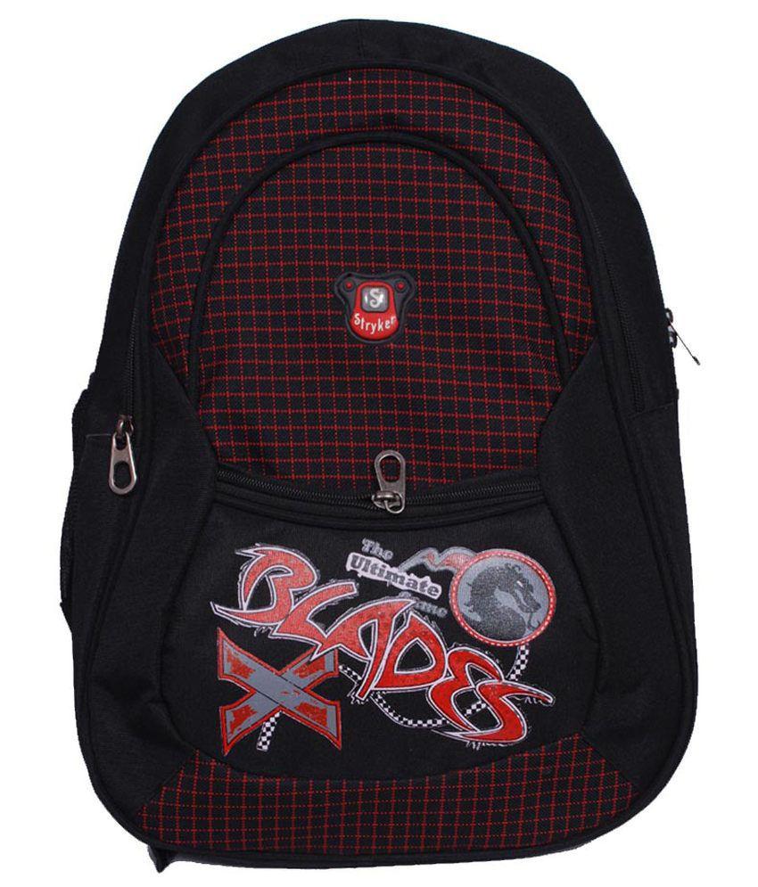 Stryker Black Laptop Bags