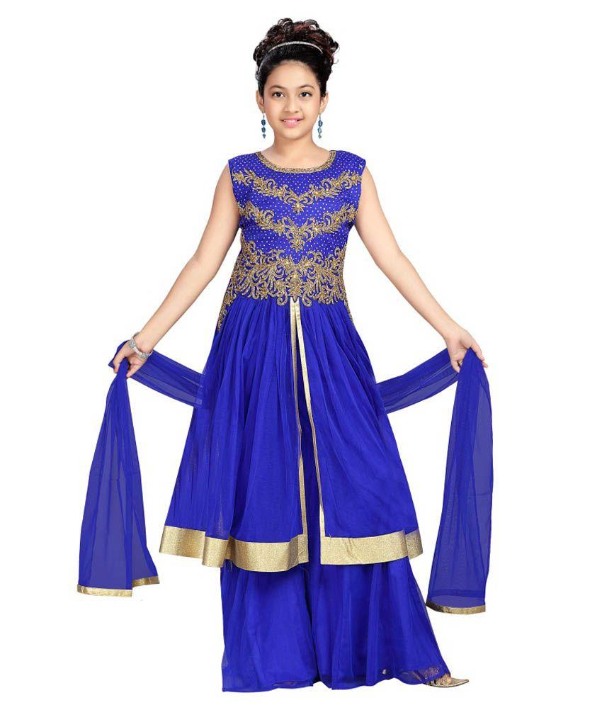Aarika Girl\'s Party Wear Palazzo Suit Set - Buy Aarika Girl\'s Party ...