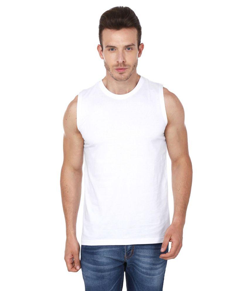 99tshirts White Round T Shirt