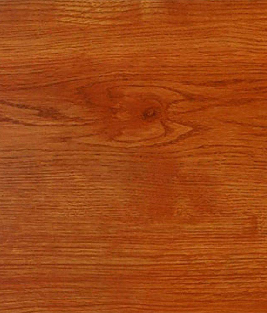 Decospaa Orange Wooden Laminate Flooring