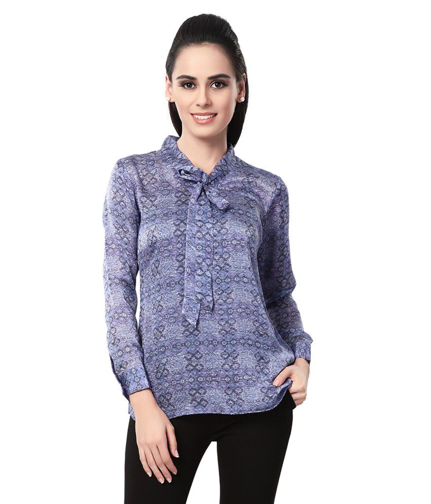 LARK Multi Poly Georgette Shirts