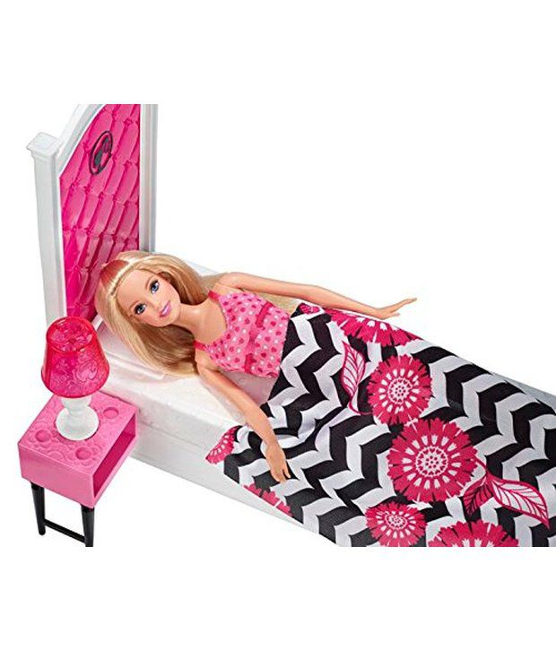 Barbie Doll and Bedroom Furniture Set - Buy Barbie Doll and ...