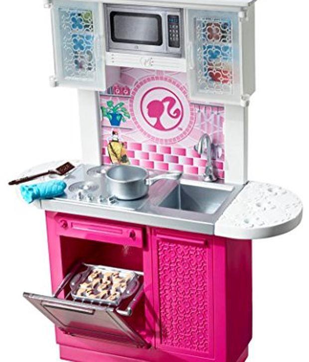 Kitchen Furniture Online: Barbie Doll And Kitchen Furniture Set