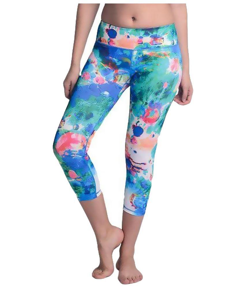 La Zoya Multicolour Yoga Tights