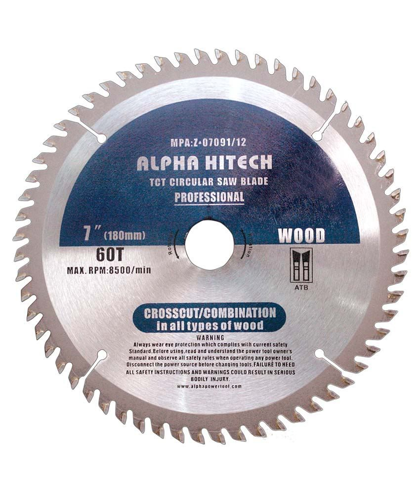 Alpha tct 7 inch wood cutting blade buy alpha tct 7 inch wood alpha tct 7 inch wood cutting blade greentooth Images