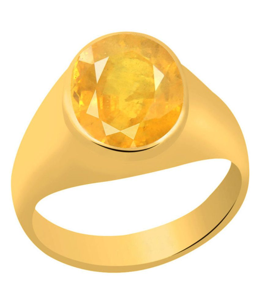 and ring ct heat yellow blue no sapphire natural