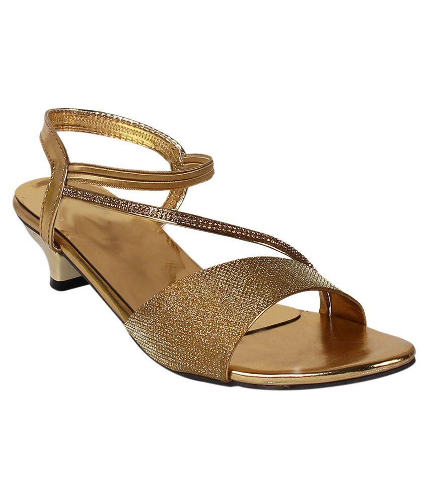 Footshez Gold Heels