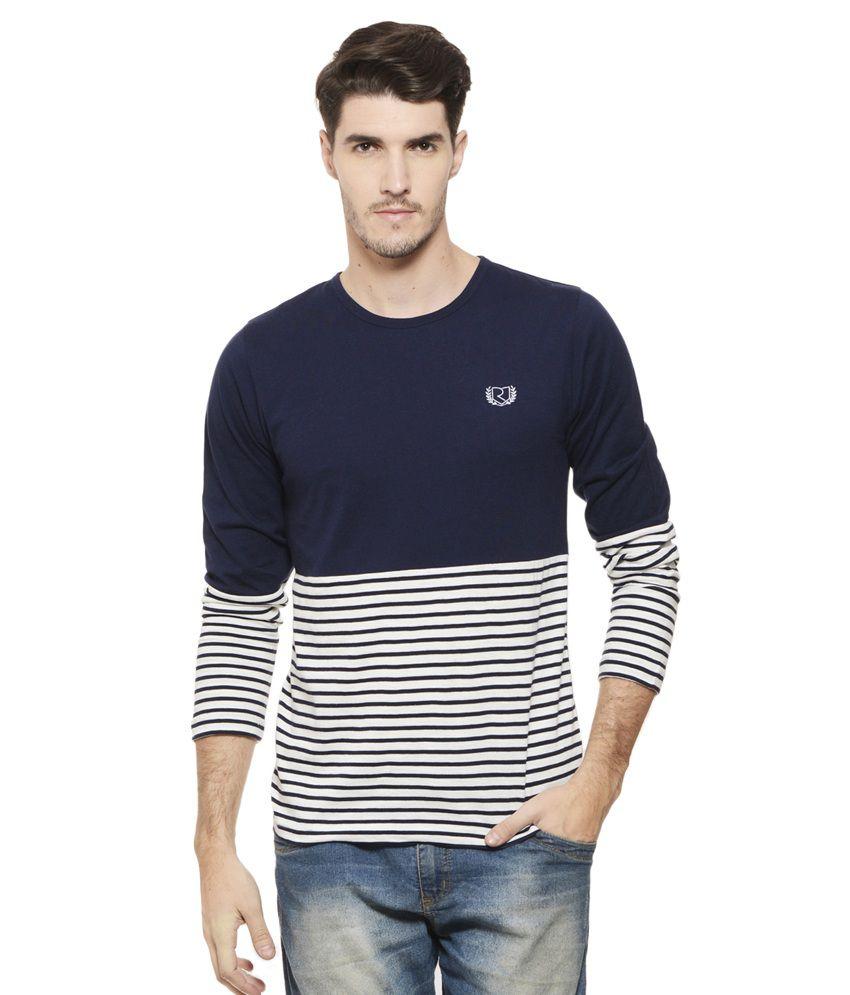 Black t shirt on flipkart - Quick View Rigo Navy Round T Shirt