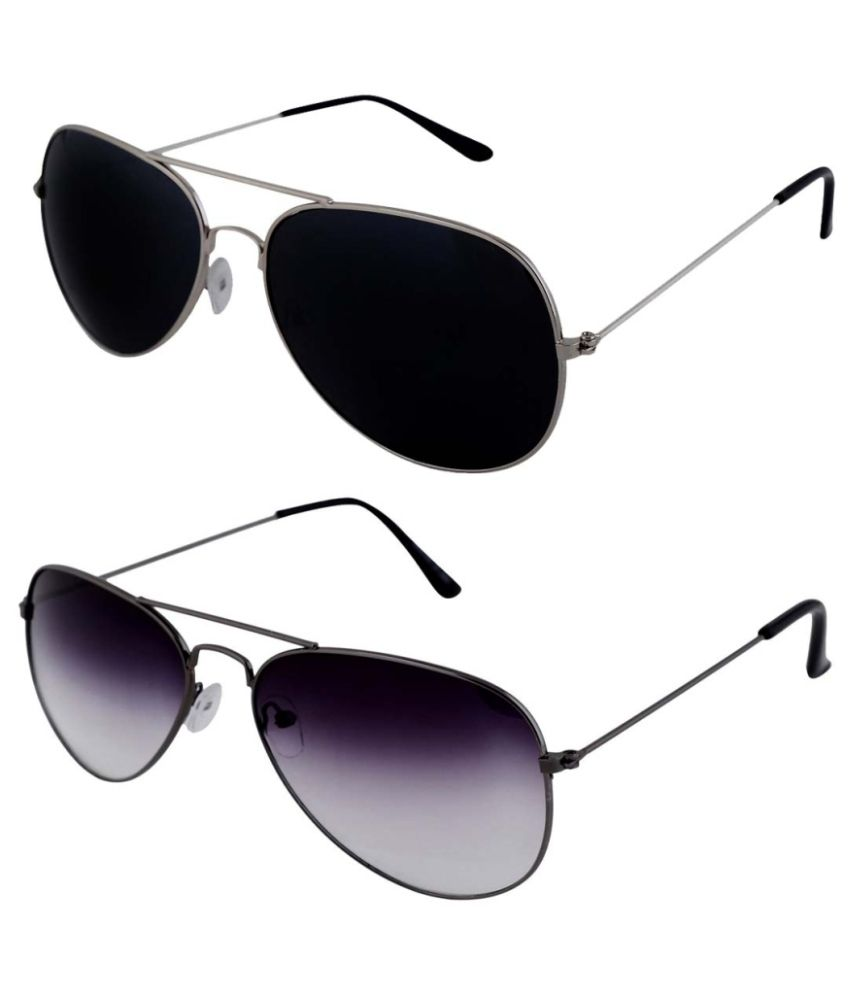 Shoaga Multicolor Aviator Sunglasses