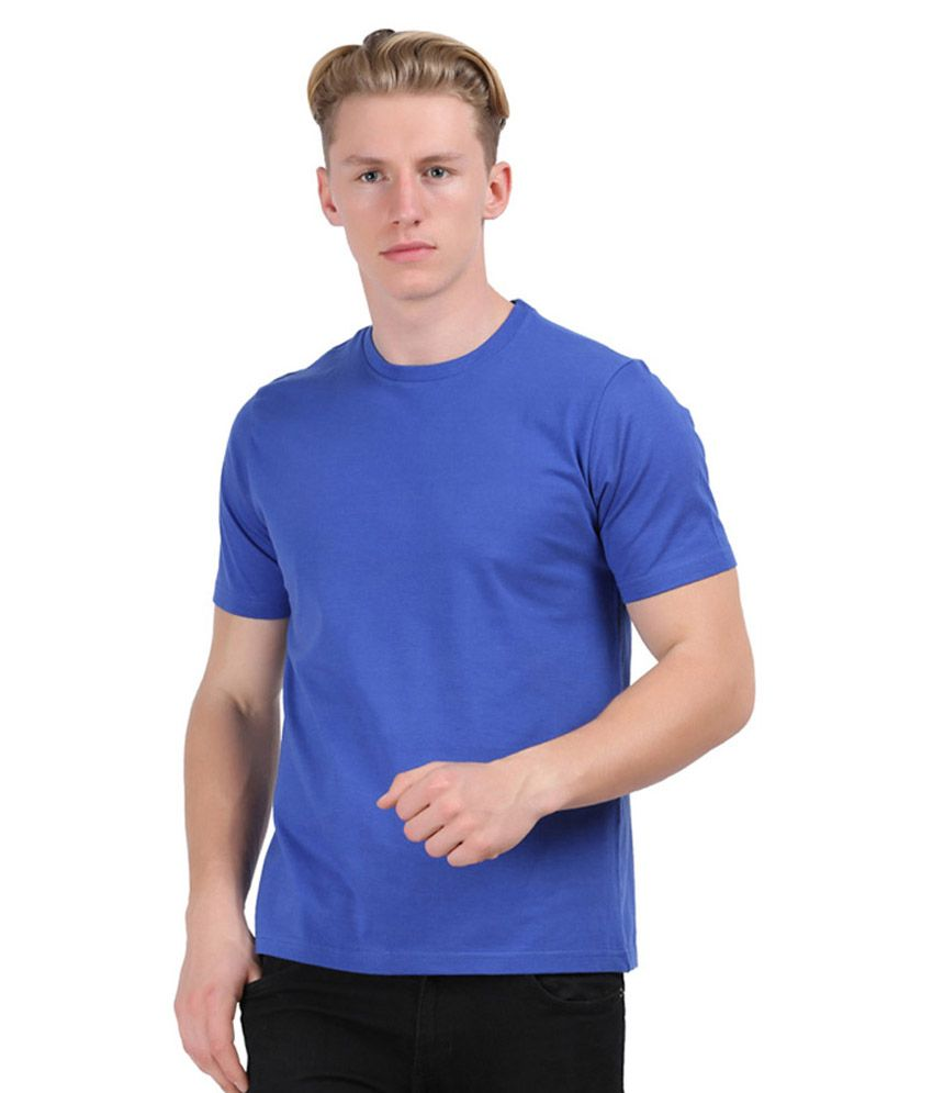 Guru Ji Blue Round T Shirt