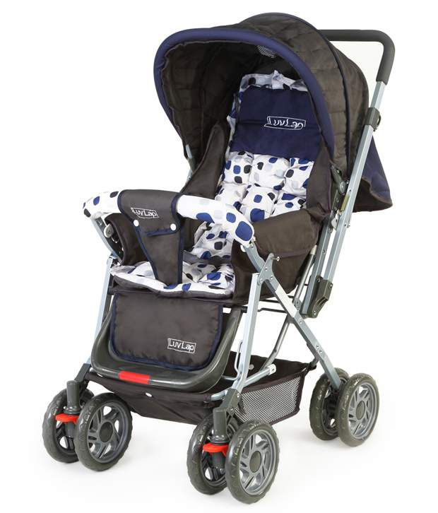 Luv Lap Baby Stroller Pram Sunshine Navy Blue - 18108 - Buy Luv ...