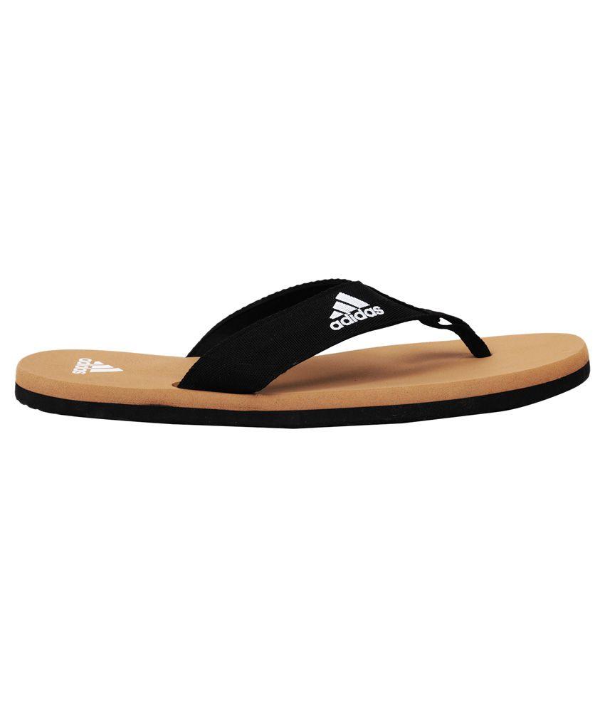 f28225580405b8 Adidas Adi Rio Brown Slippers Price in India- Buy Adidas Adi Rio ...