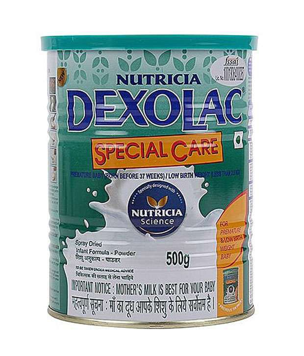dexolac special care infant formula upto 6 months 500 g