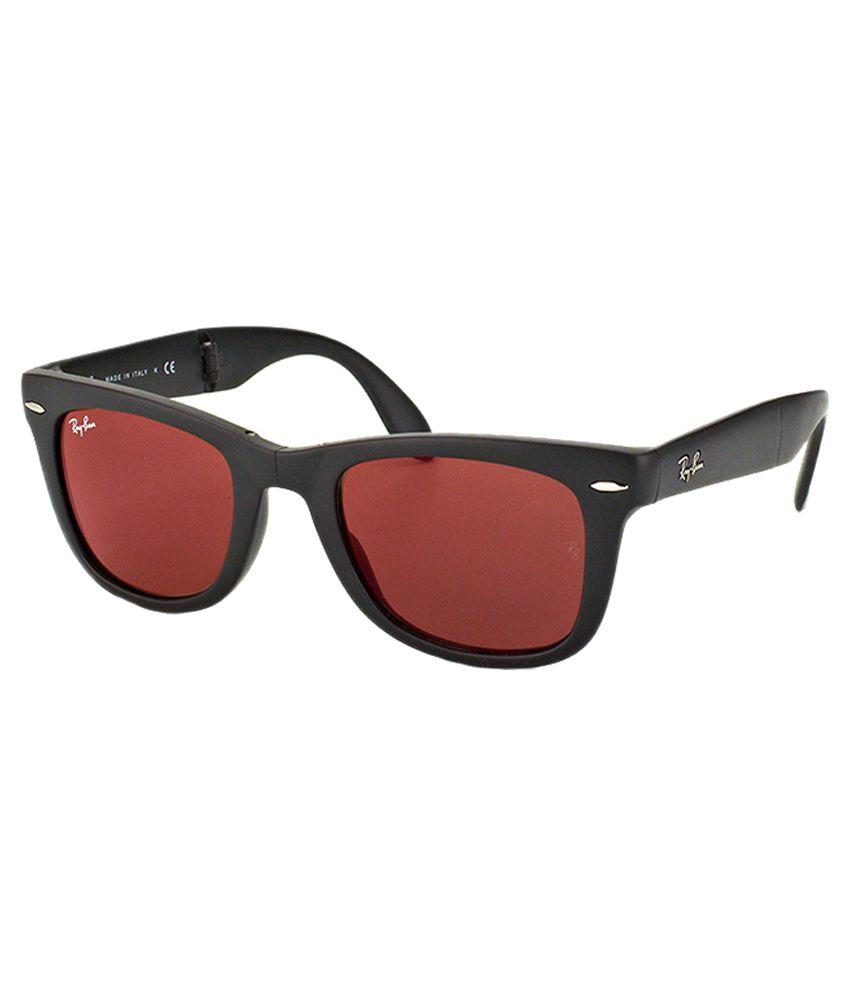 8823added Ray-Ban Red Wayfarer Sunglasses - Buy Ray-Ban Red Wayfarer Sunglasses Online  at Low Price - Snapdeal