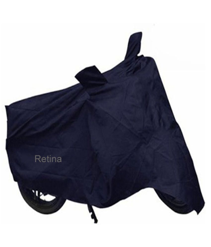 Retina Blue Polyester Two Wheeler Cover for Honda CB Twister