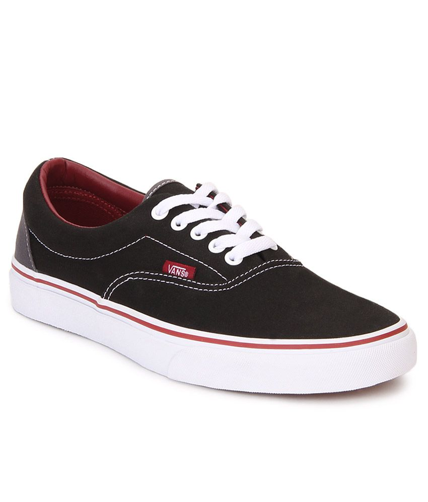 Vans Era Black Canvas Casual Shoes - Buy Vans Era Black Canvas Casual Shoes  Online at Best Prices in India on Snapdeal 45c0cb4abe