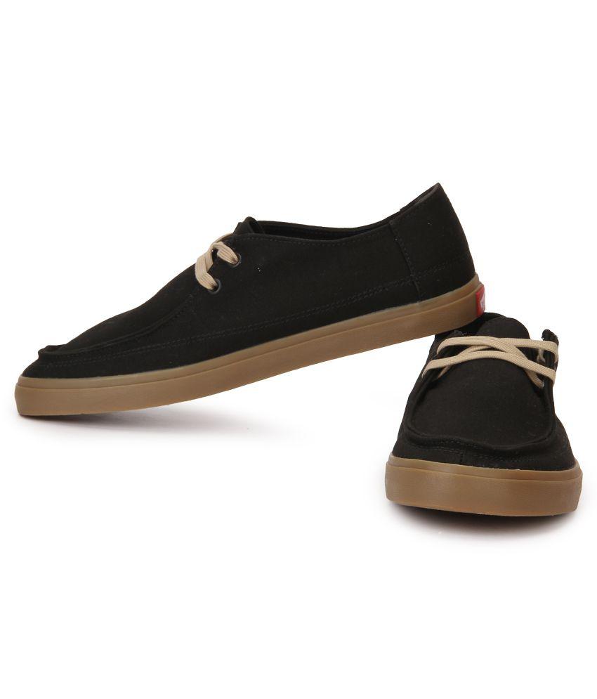 89c0cc5cb3c Vans Rata Vulc Sf Black Canvas Casual Shoes - Buy Vans Rata Vulc Sf ...