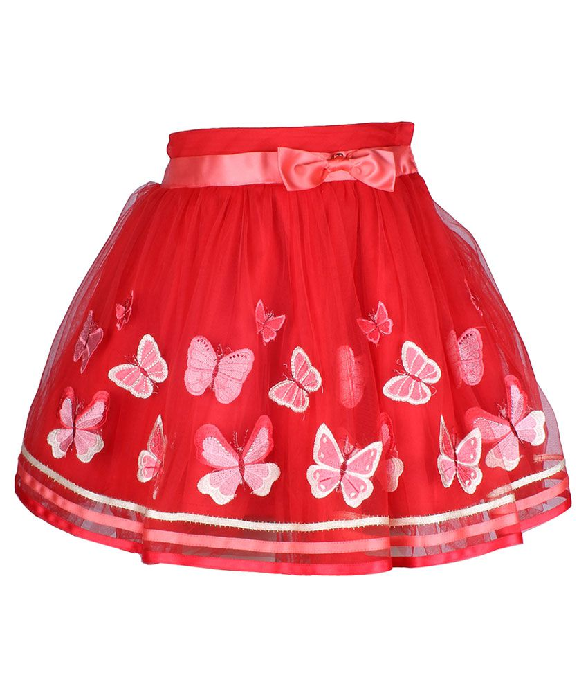 Cutecumber Red Net Skirt