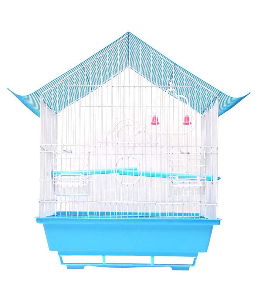 Hawai Blue Virgin Plastic Bird Cage