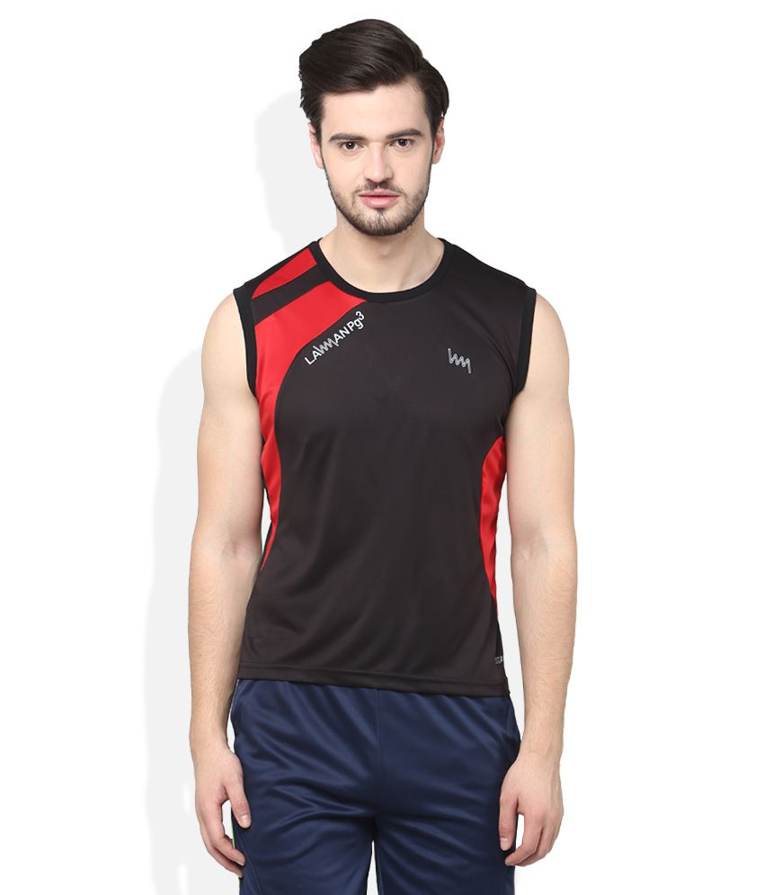 Lawman Pg3 Black T-Shirts
