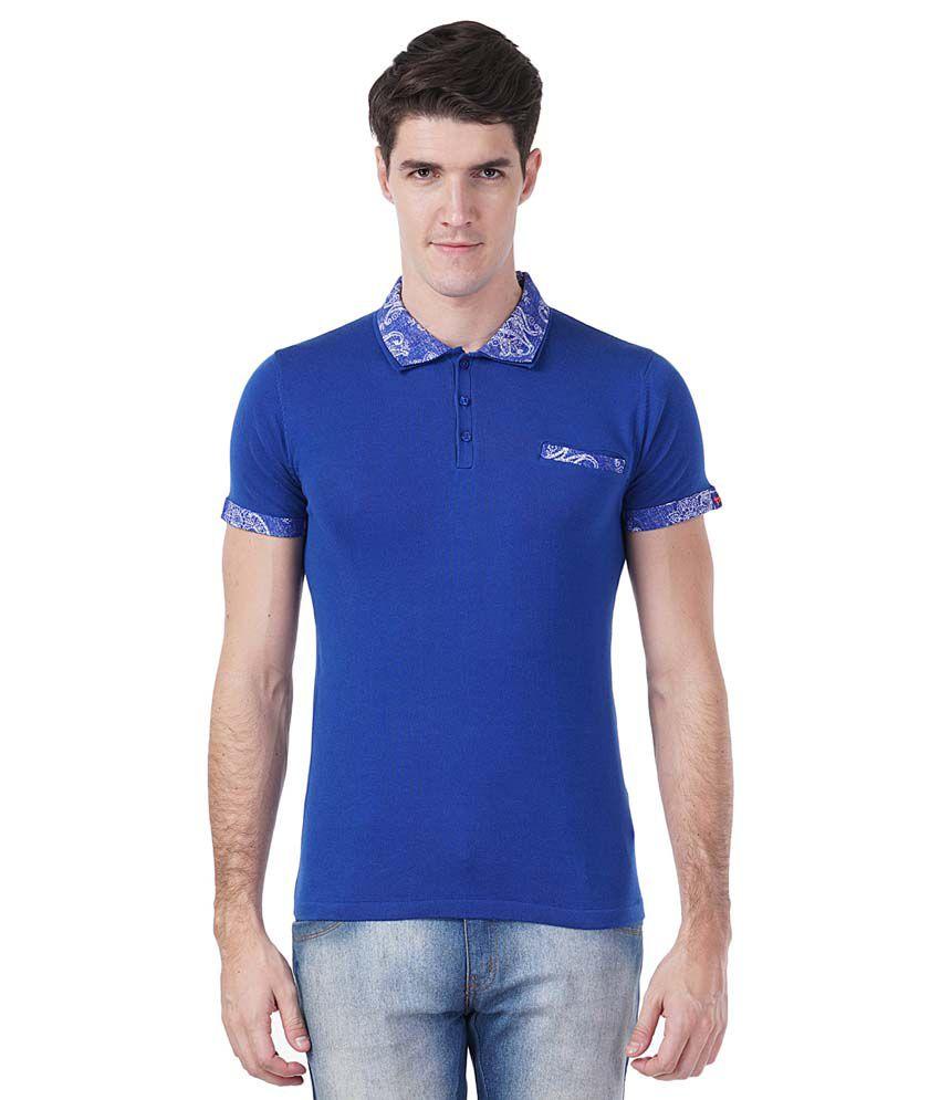 Tsavo Blue Round T Shirt