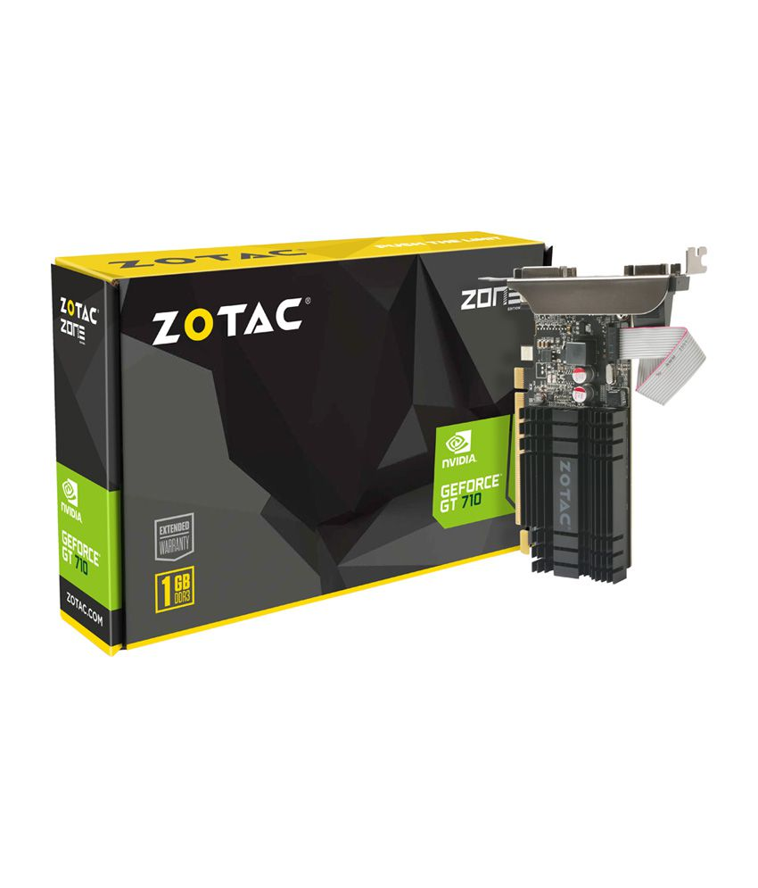 Zotac NVIDIA GT 710 1 GB DDR3 Graphics card