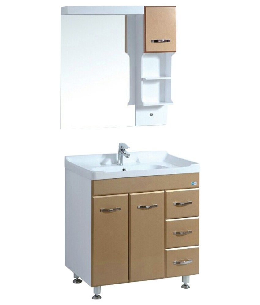how to install a bathroom cabinet bellezza beige and white pvc bathroom cabinet with basin 17020