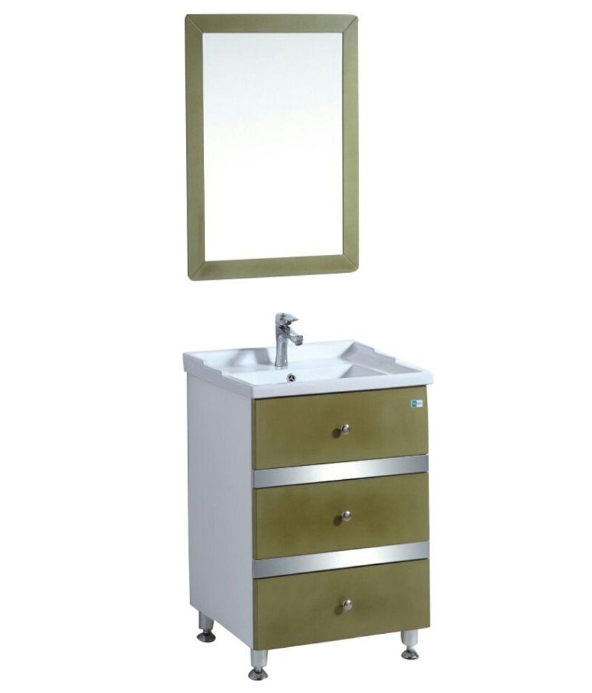 how to install a bathroom cabinet bellezza green and white pvc bathroom cabinet with basin 17020