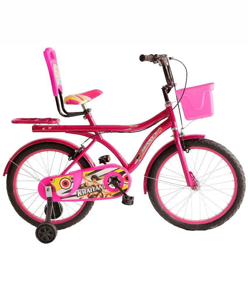 Khaitan Bicycles Pink Metal Bicycle: Questions and Answers ...