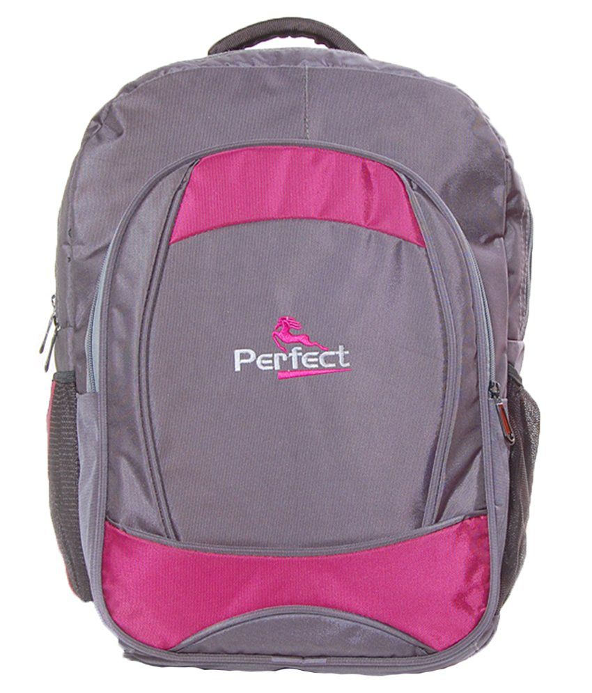 BBC Perfect Gray Polyester Laptop Bag