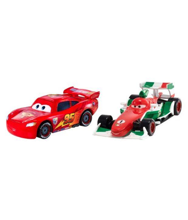 Disney Pixar Cars 2 Francesco Bernoulli & Ka-Ciao Mcqueen Movie ...