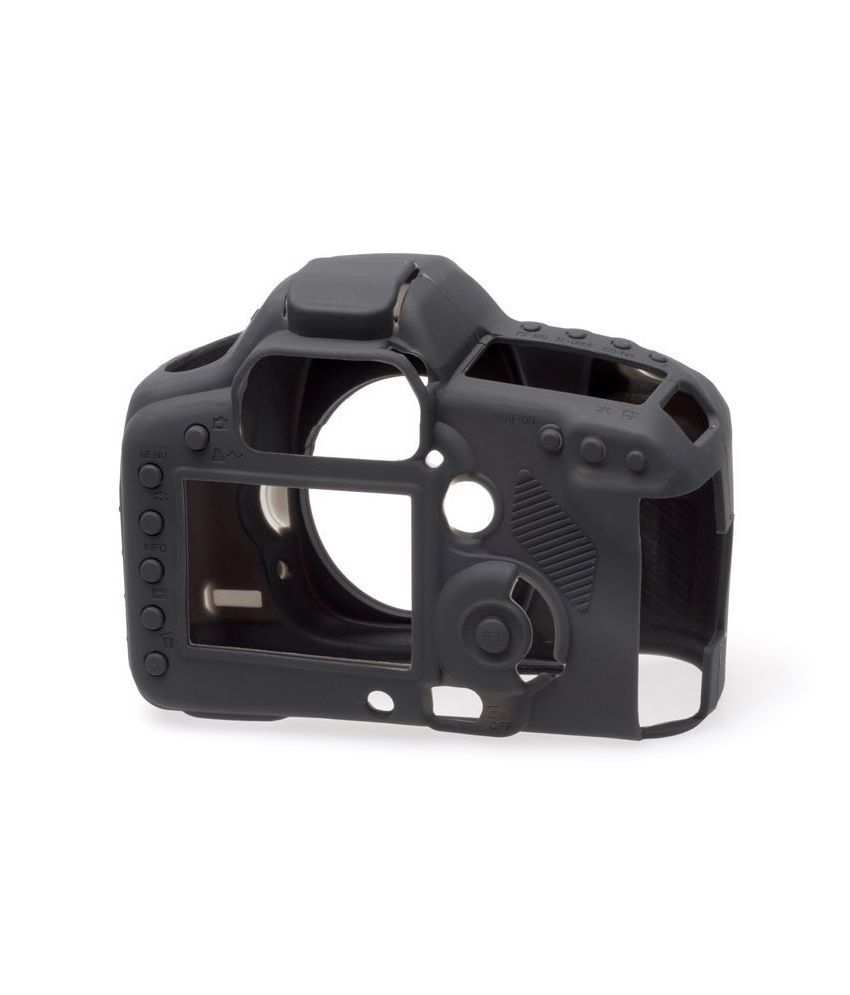 Easycover Silicone Camera Cover For Canon 5d Mark Iii - Black