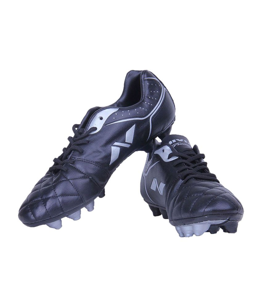 Nivia Premier Range Football Studs - Black  available at snapdeal for Rs.611