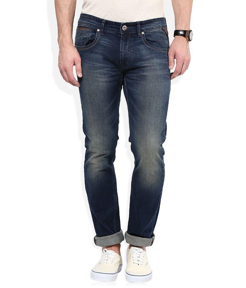 Numero Uno Blue Martin Slim Fit Jeans