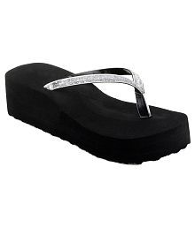 Shoe Lab Silver Slippers