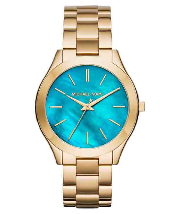 4121707ca95d Michael Kors MK3492 Slim Runway Watch for Men - Buy Michael Kors MK3492 Slim  Runway Watch for Men Online at Best Prices in India on Snapdeal