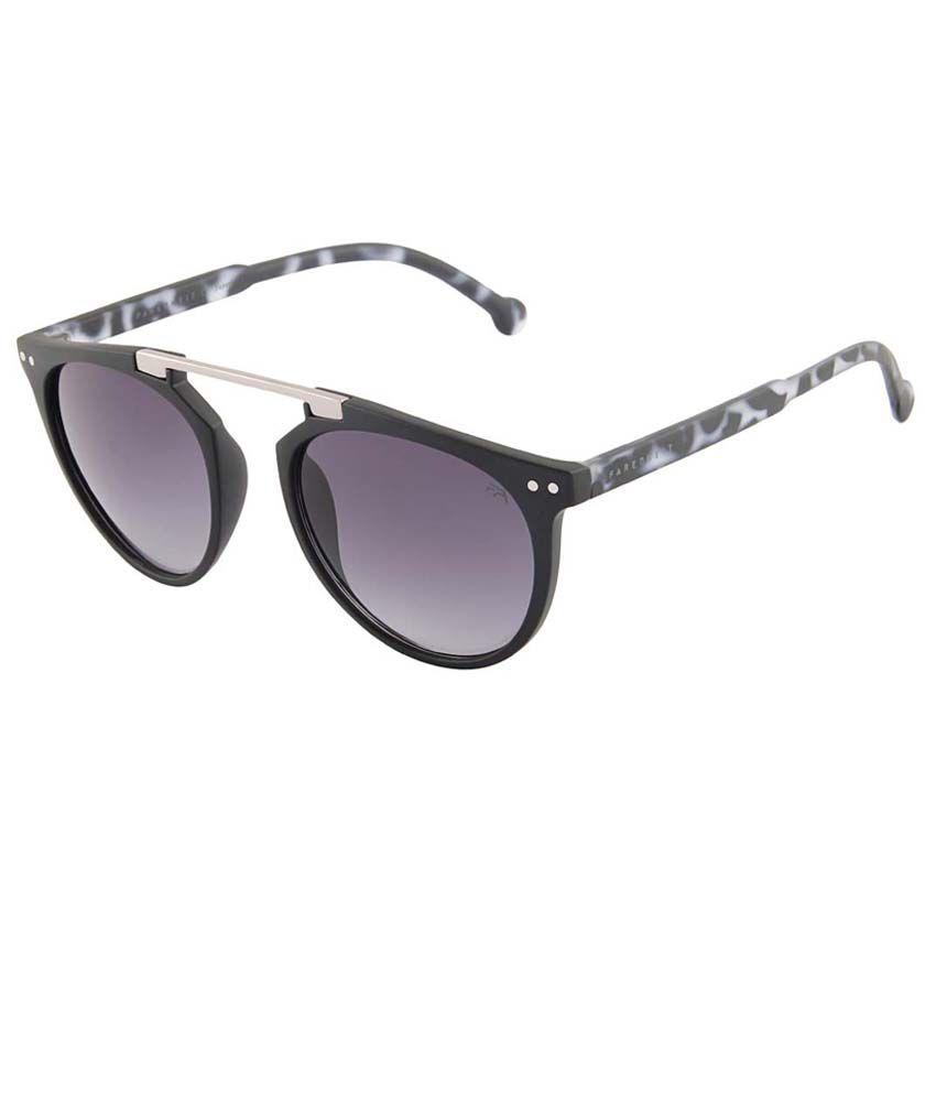 Farenheit Blue Round Sunglasses