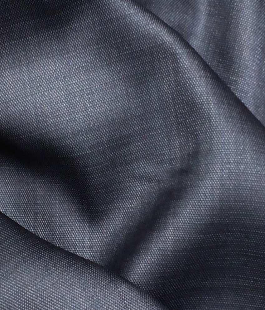 Kundan Sulz Gwalior Black Cotton Blend Suit Lengths