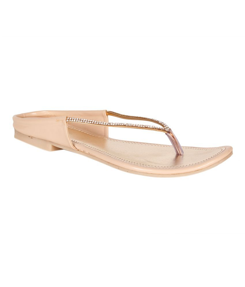 Shoes'n'Style Beige Slippers
